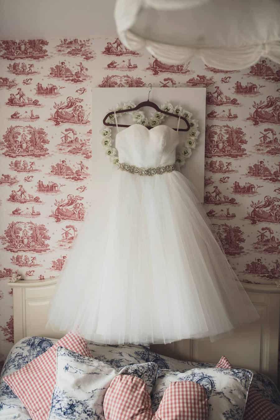 the dress - Sami Tipi Wedding at Bawdon Lodge Farm