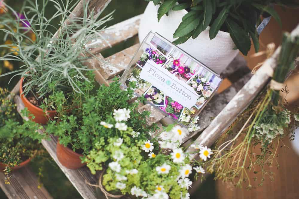 Sami Tipi Summer Open Evening - flora button