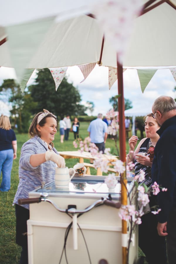 Sami Tipi Summer Open Evening - Traditional Ice-Cream by Honeybees vintage teas