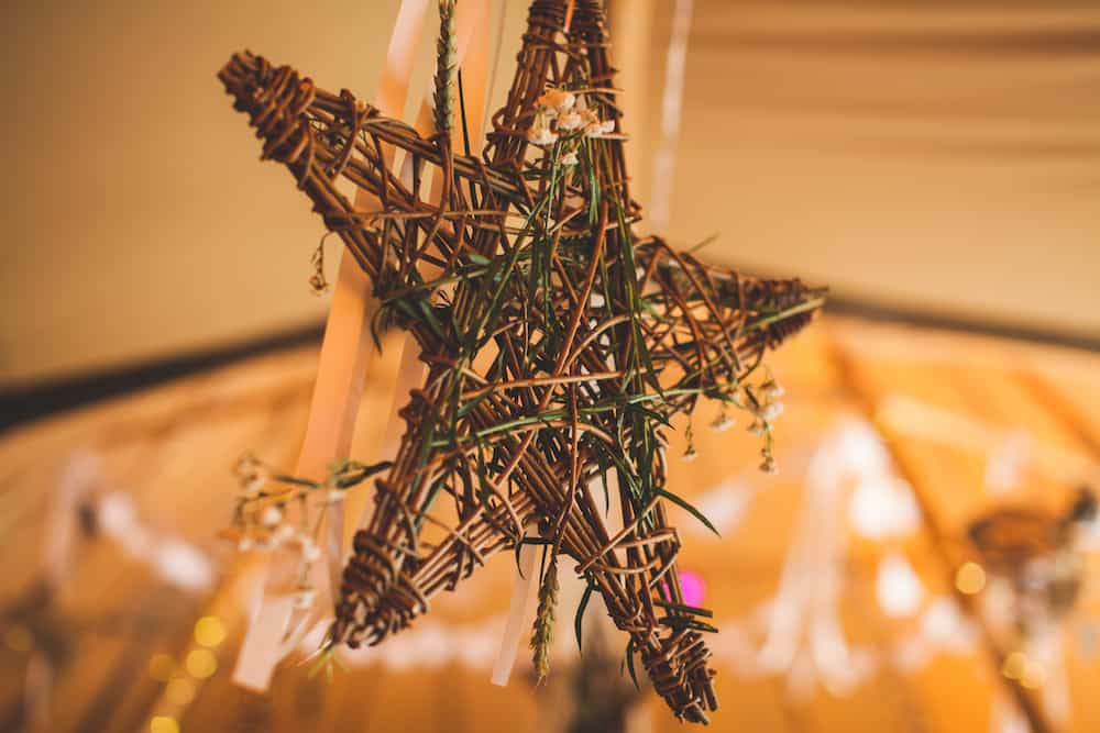 Tipi Styling by What Katy Does with a natural vintage touch