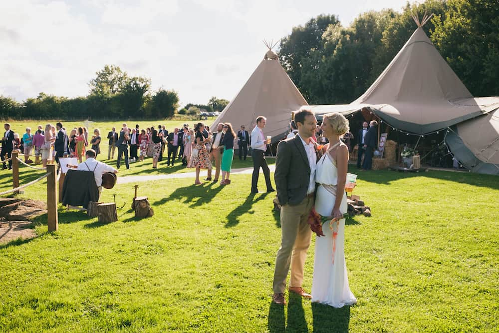 Married - Sami Tipi Wedding - Captured by Duncan Cox