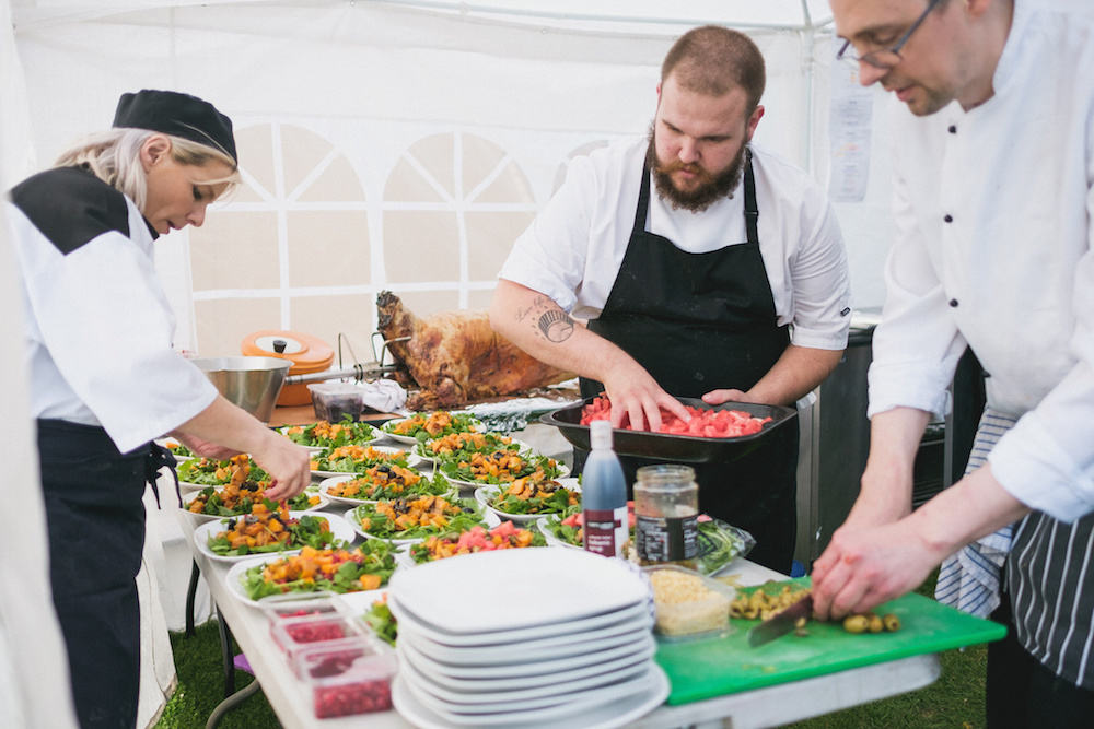 watering and feeding your guests - Sami Tipi Wedding - Captured by Duncan Cox