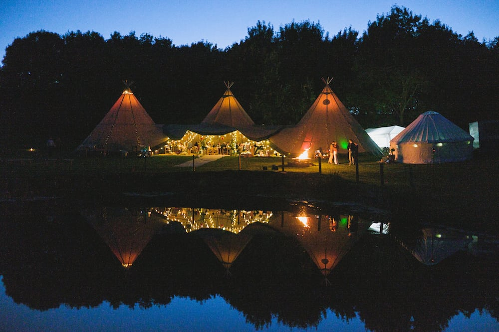 by night - Sami Tipi Wedding - Captured by Duncan Cox