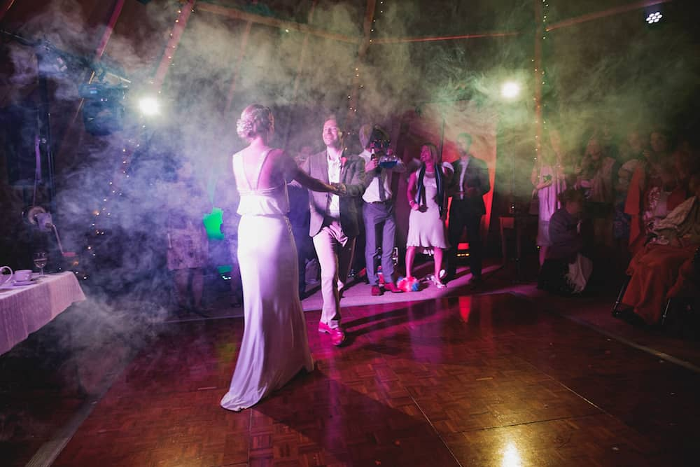 dancing - Sami Tipi Wedding - Captured by Duncan Cox