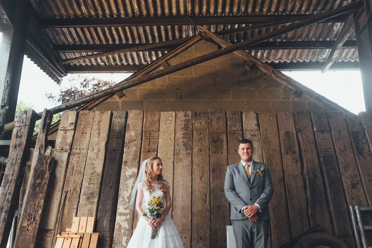 Bride & Groom captured images - Sami Tipi Wedding Hire captured by Becky Ryan