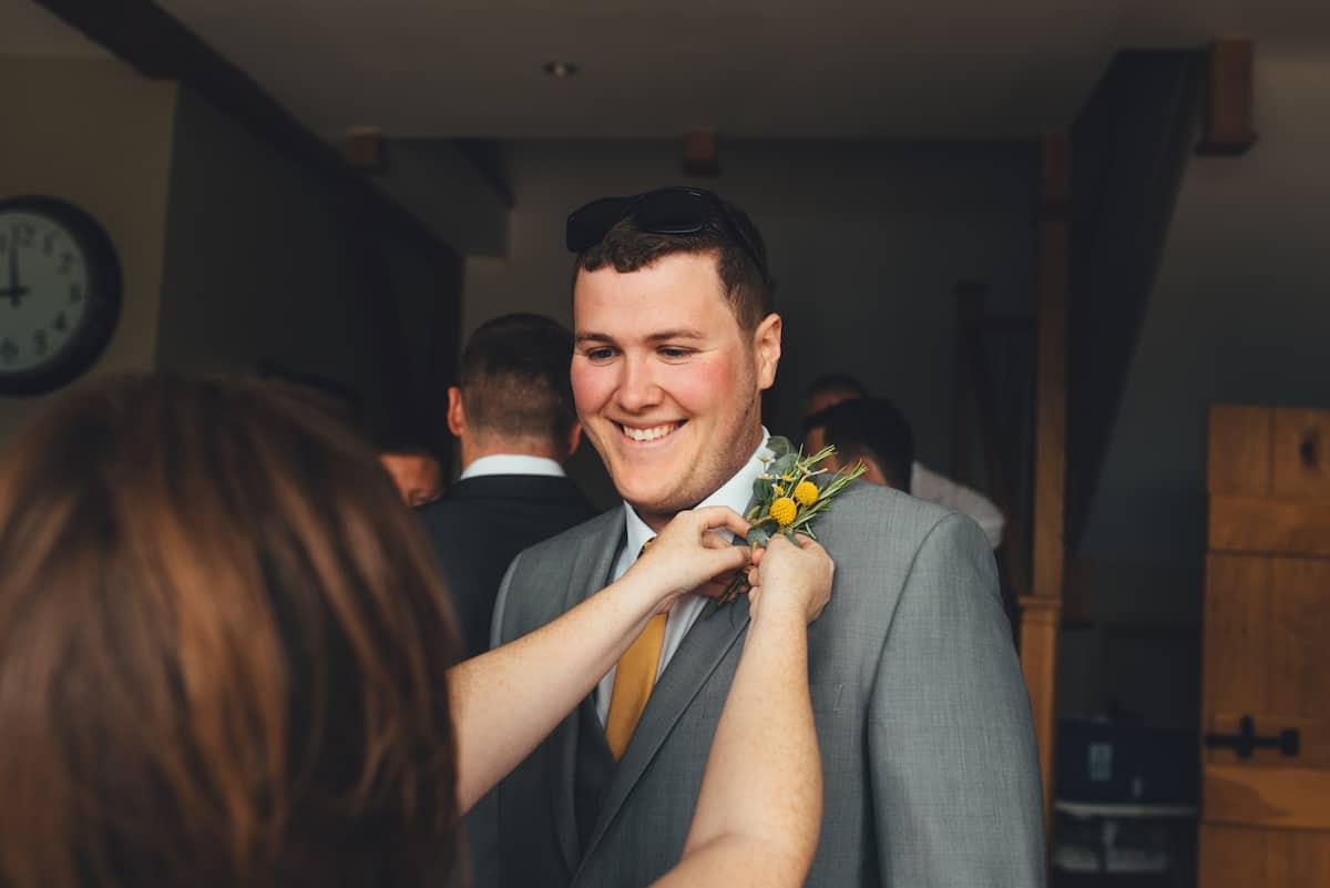 Groom - Sami Tipi Wedding Hire captured by Becky Ryan