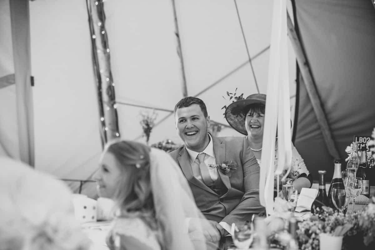 Tipi Styling Detail - Sami Tipi Wedding Hire captured by Becky Ryan