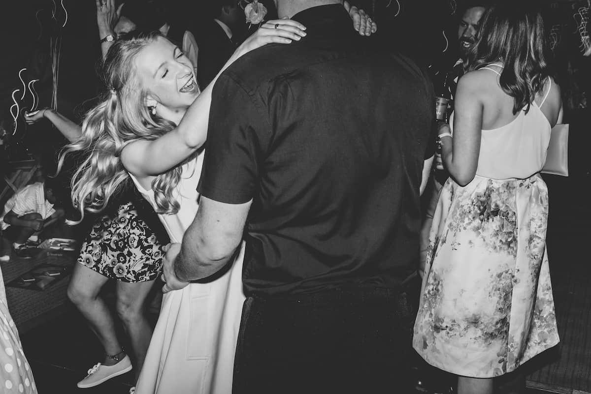 Party time in the tipis - Sami Tipi Wedding Hire captured by Becky Ryan