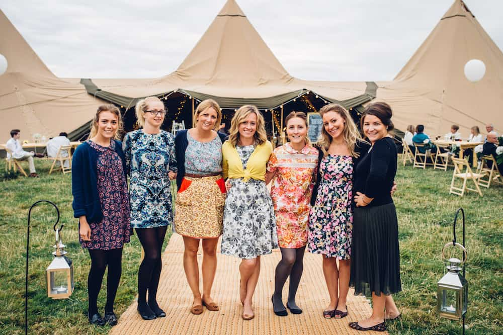 Hosted by Darby & Joan - Sami Tipi Derbyshire Wedding - captured by Matt Brown Photography