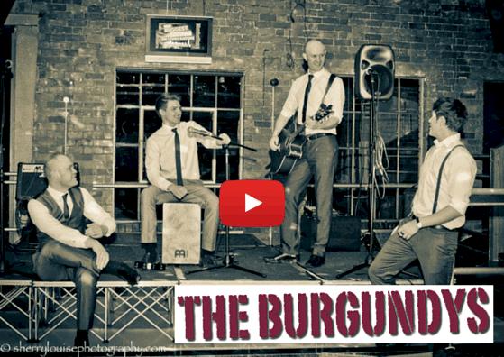 The Burgundys live at the Sami Tipi spring showcase 23rd April 2016