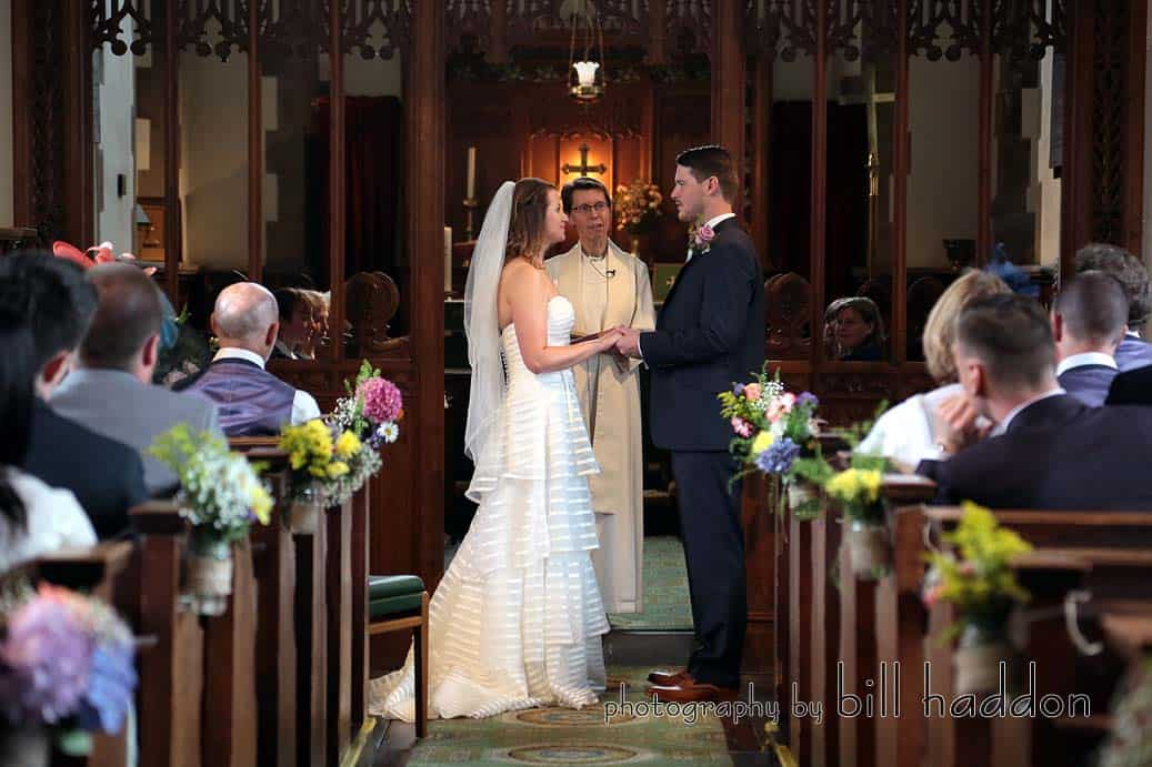 Church Ceremony - Sami Tipi Wedding by Bill Haddon Photography -