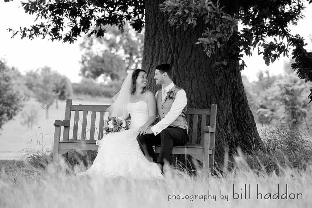 Bawdon Lodge Farm Oak Tree - Sami Tipi Wedding by Bill Haddon Photography -