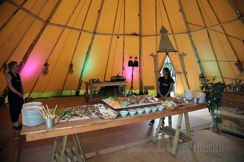Thomas The Caterer - Sami Tipi Wedding by Bill Haddon Photography -