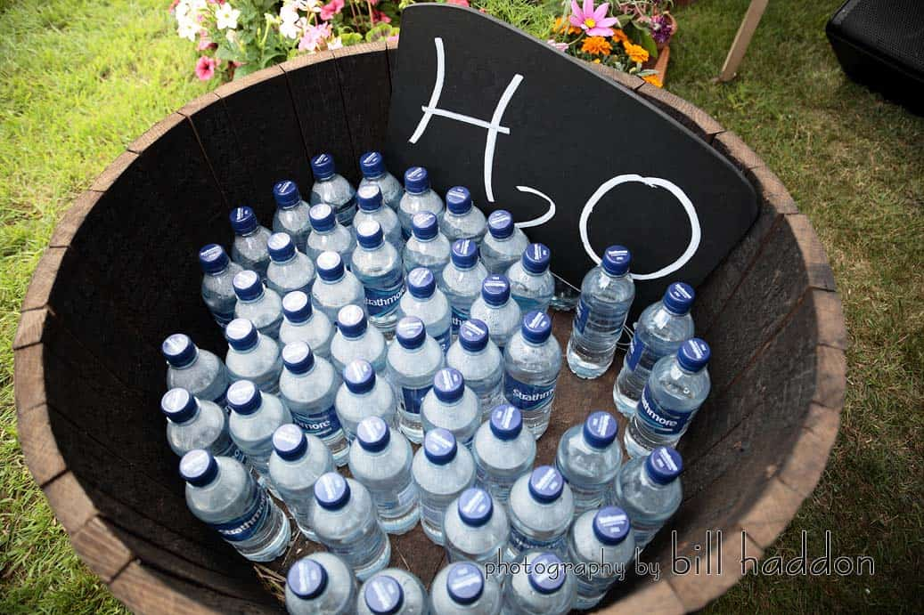 H2O keeping your guests watered - Sami Tipi Wedding by Bill Haddon Photography -