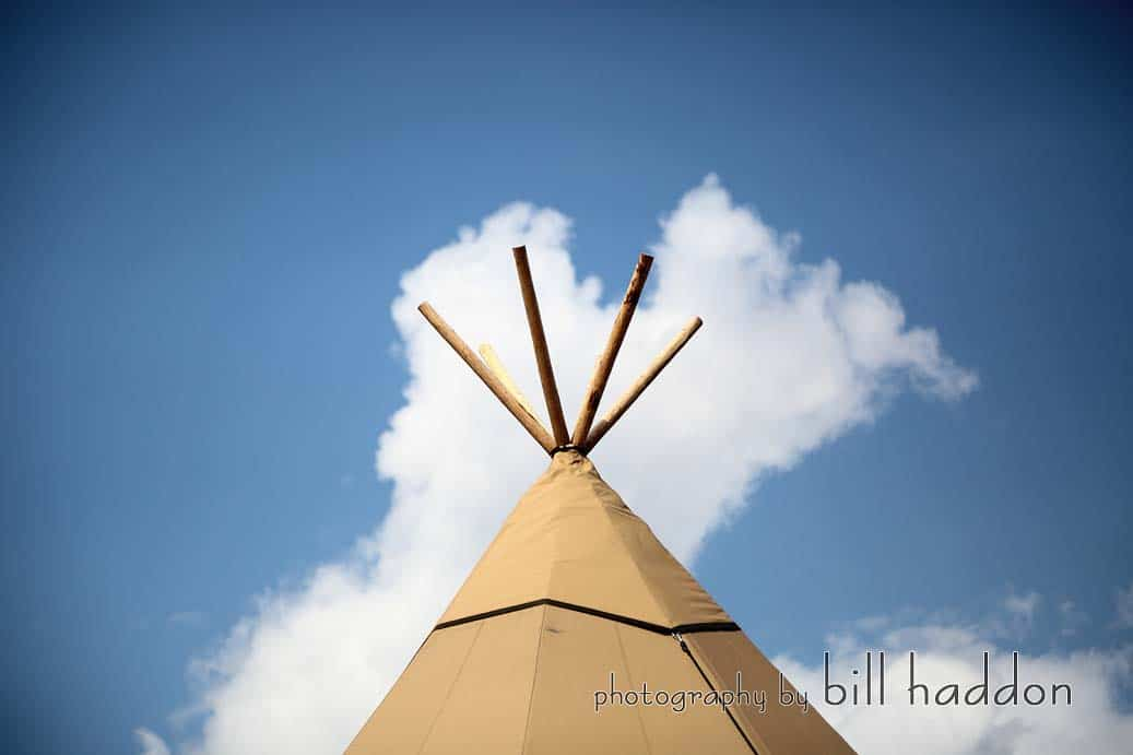 Sami Tipi Wedding by Bill Haddon Photography -