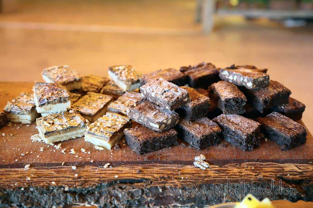 Thomas The Caterer Brownies - Sami Tipi Wedding by Bill Haddon Photography -