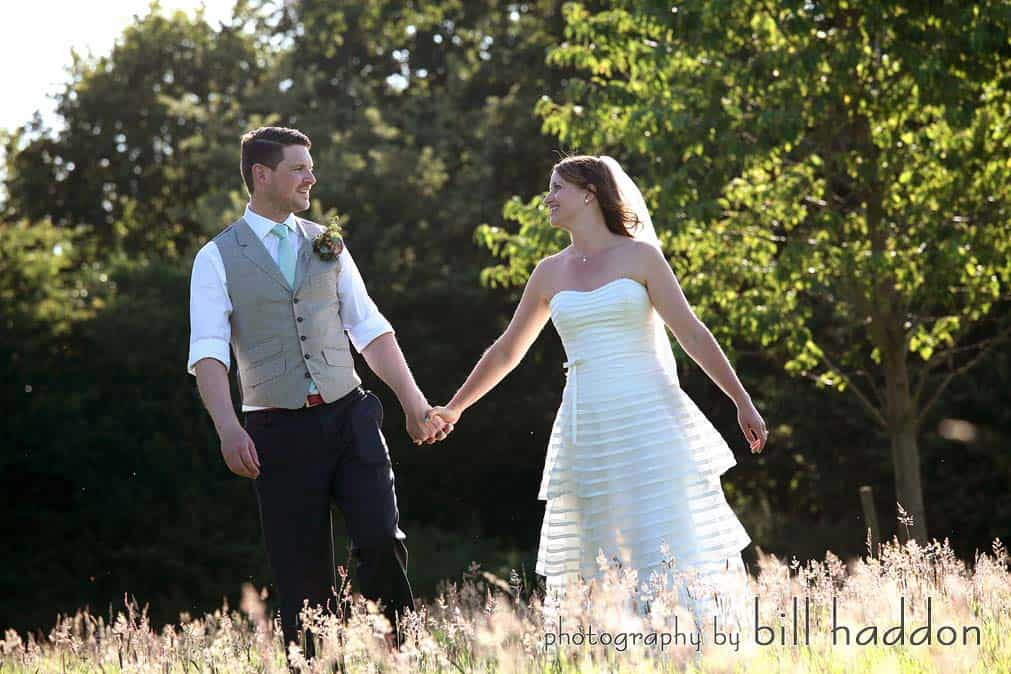 Bride & Groom - Sami Tipi Wedding by Bill Haddon Photography -