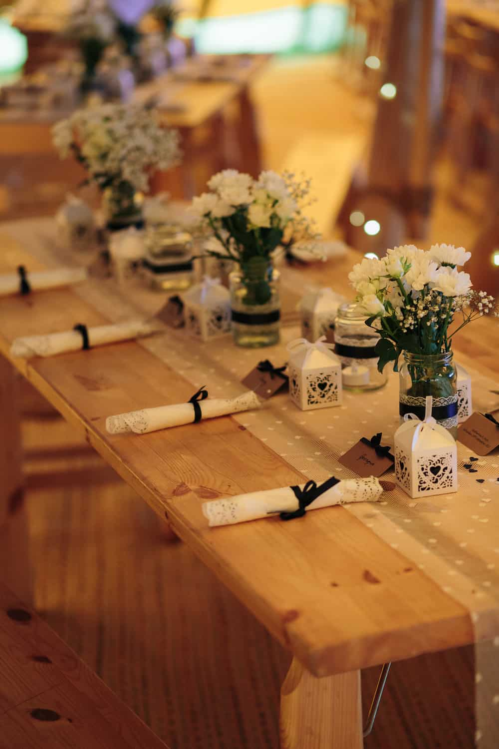 Tipi Table Setting - Sami Tipi Wedding - Image by Kathryn Edwards