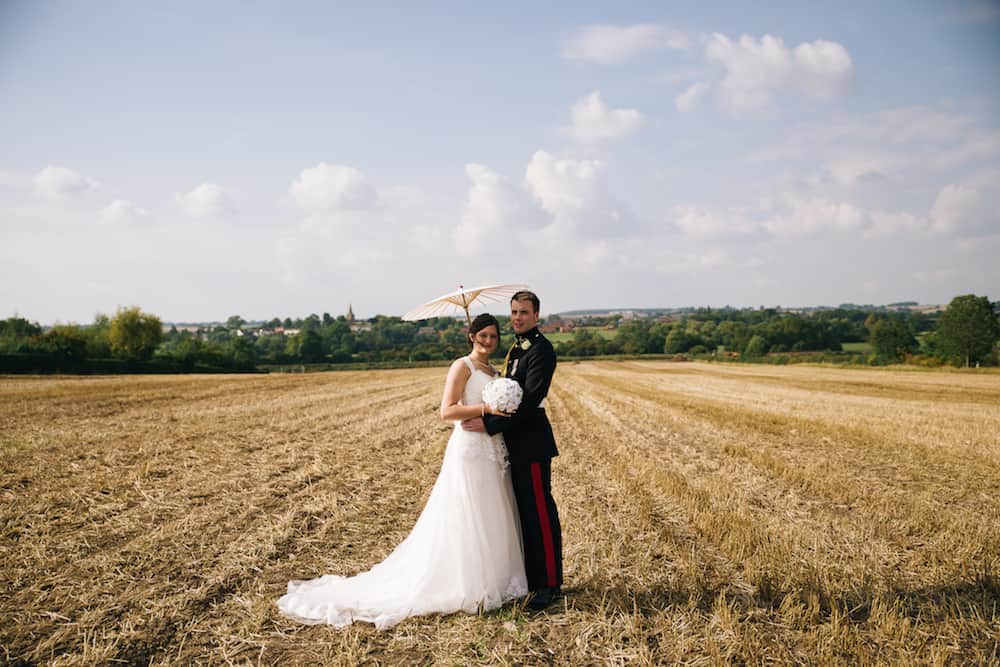 Bride and groom - Sami Tipi Wedding - Image by Kathryn Edwards