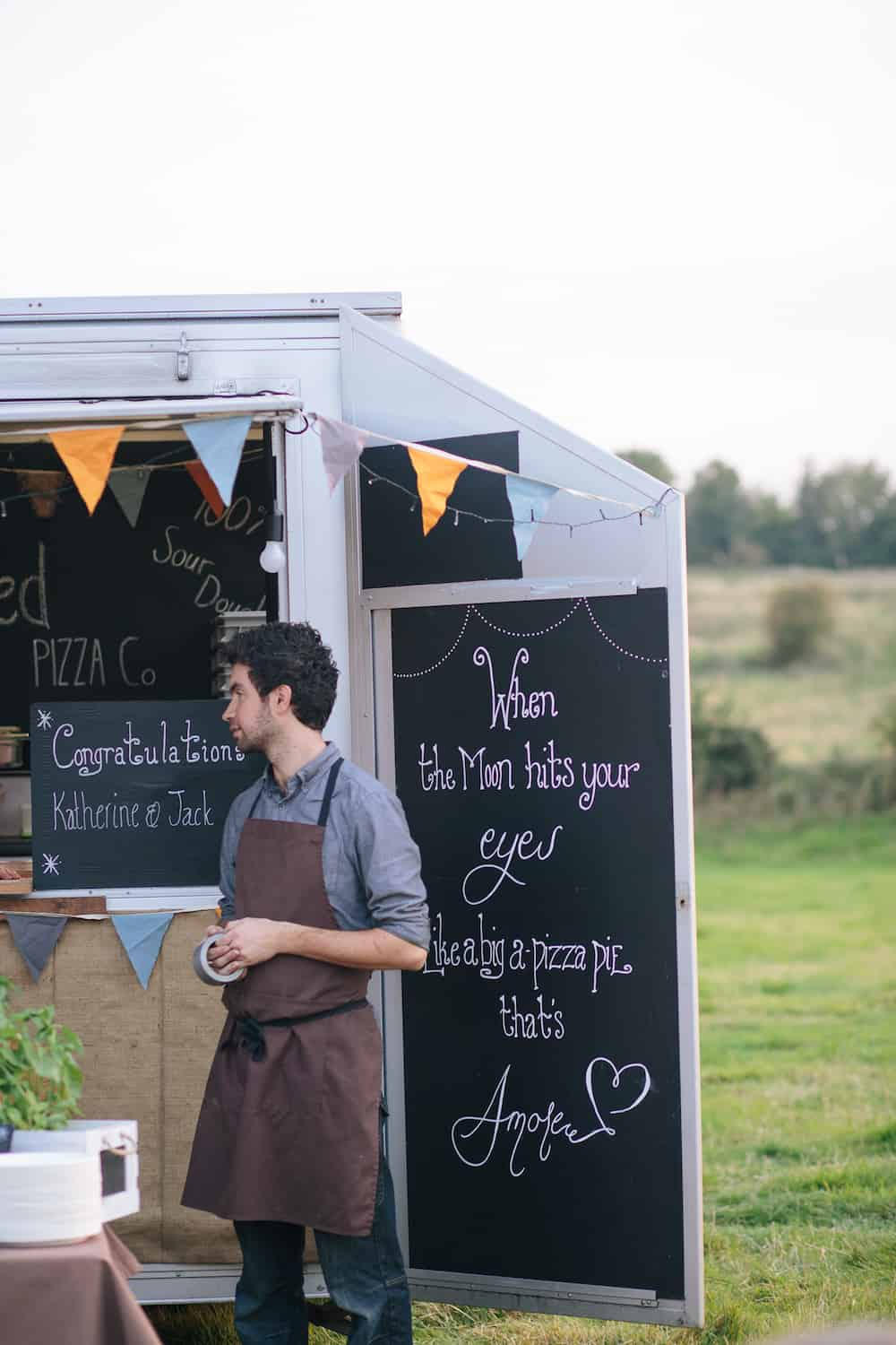 relaxed wedding catering - Sami Tipi Wedding - Image by Kathryn Edwards
