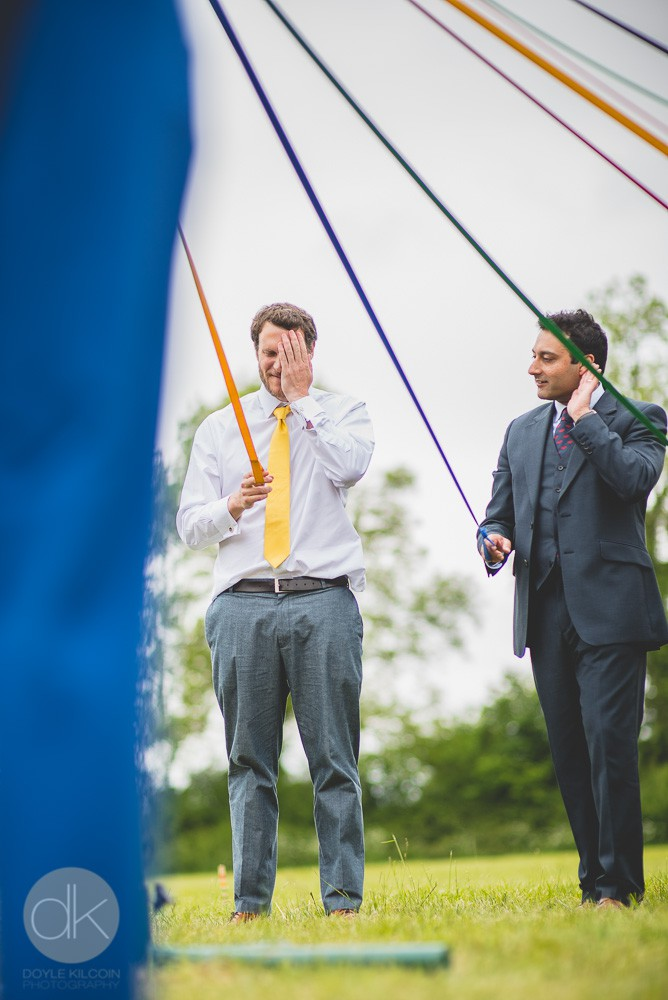 May day wedding - Sami Tipi Wedding in Buckinghamshire - Captured by DK Wedding Photography