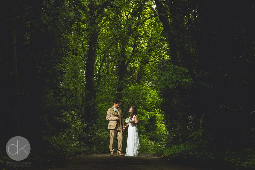 Bride & Groom - Sami Tipi Wedding in Buckinghamshire - Captured by DK Wedding Photography