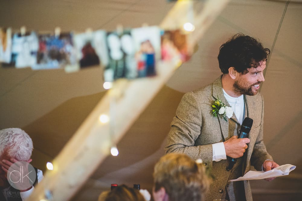 wedding speeches - Sami Tipi Wedding in Buckinghamshire - Captured by DK Wedding Photography