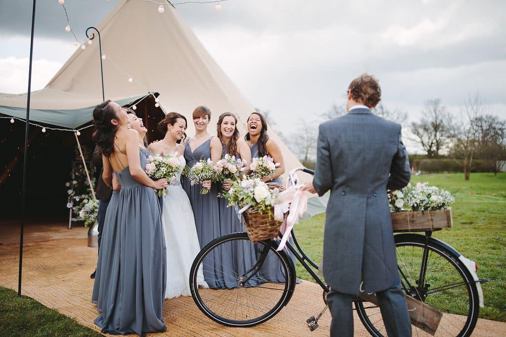 Tipi Spring Wedding