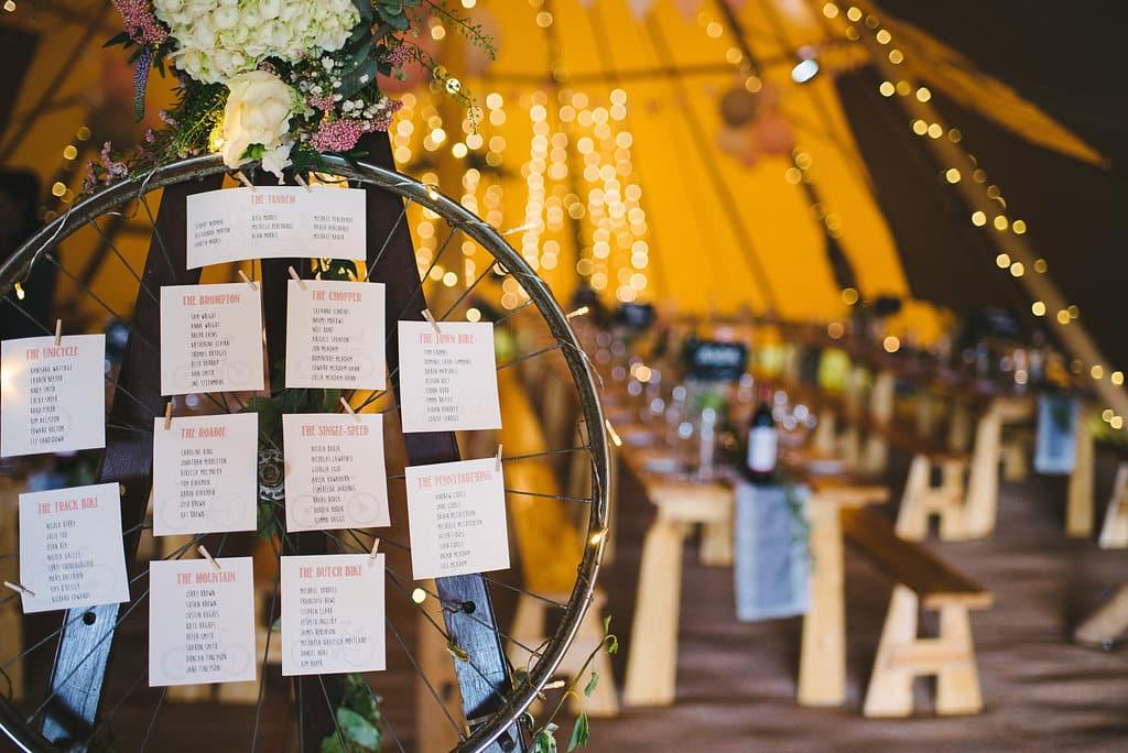 Rustic Styled Spring Tipi Wedding Celebration