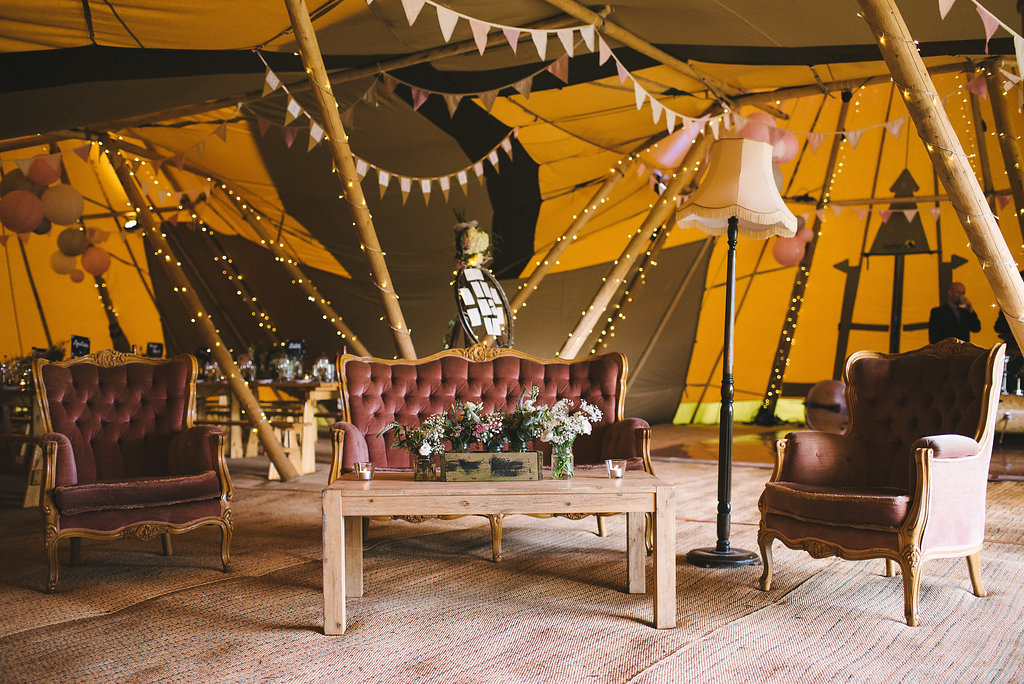 Vintage Tipi Chill-Out Furniture