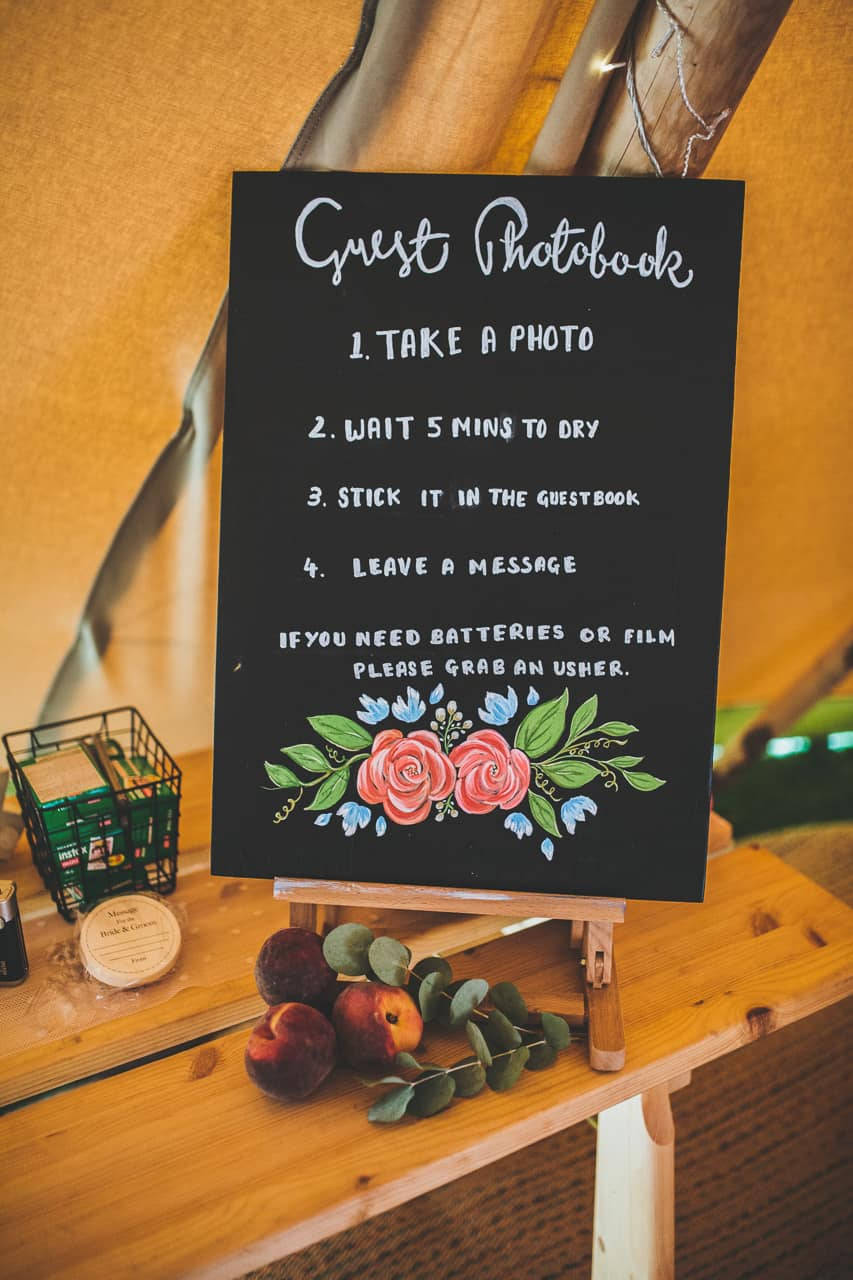 guest book ideas - Sami Tipi wedding by Frankee Victoria