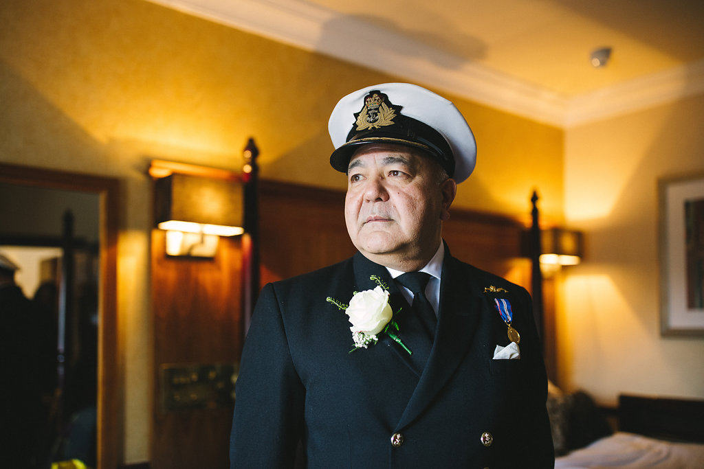 Getting Ready Dad - Sami Tipi Wedding by london-weddingphotographer