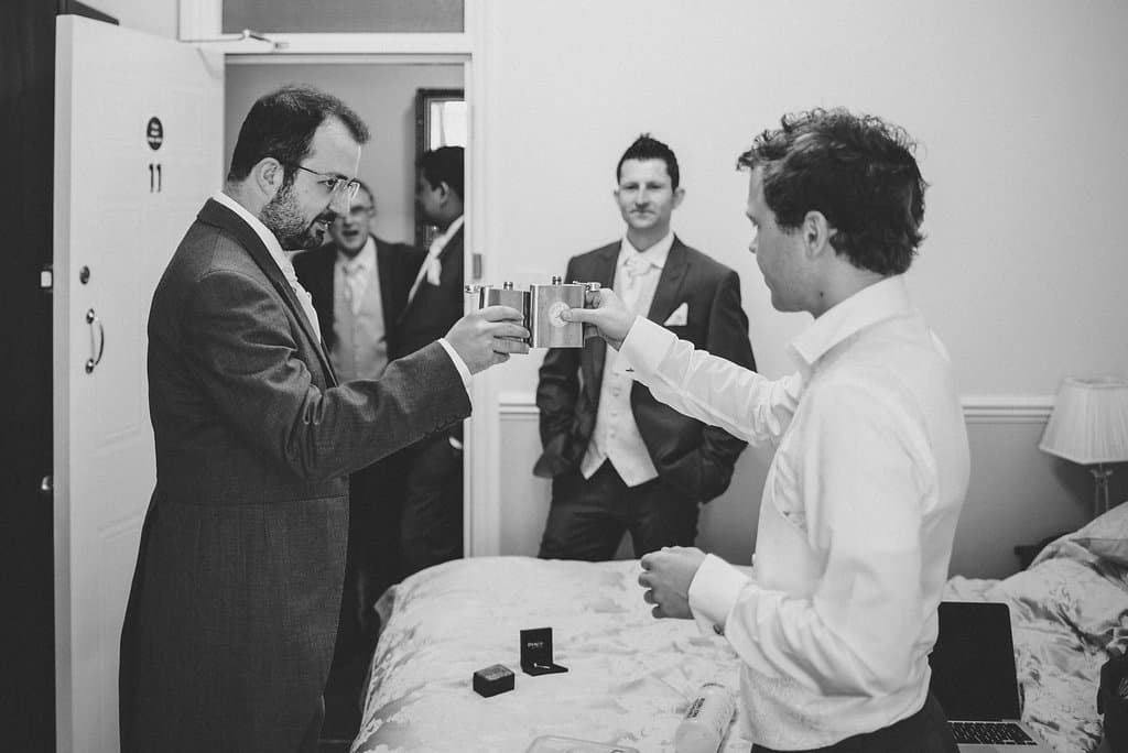 Groom getting ready - Sami Tipi Wedding by london-weddingphotographer