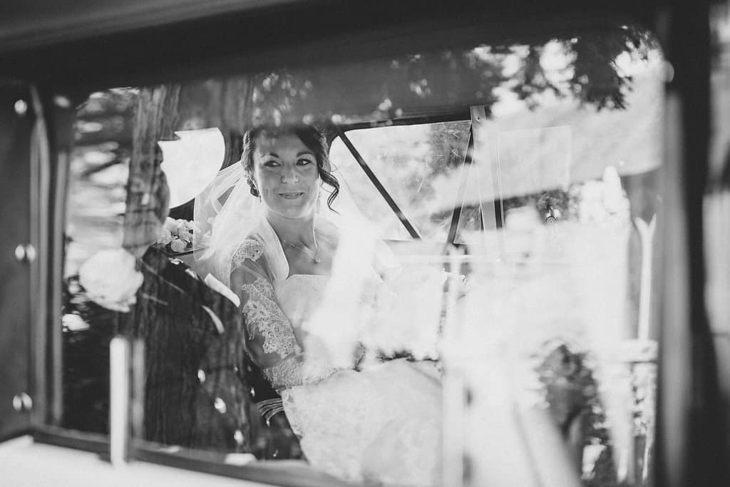 Arriving at church - Sami Tipi Wedding by london-weddingphotographer