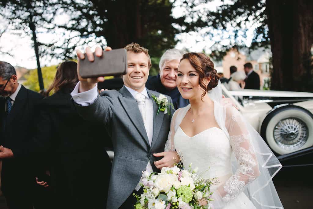 Wedding Selfie - Sami Tipi Wedding by london-weddingphotographer