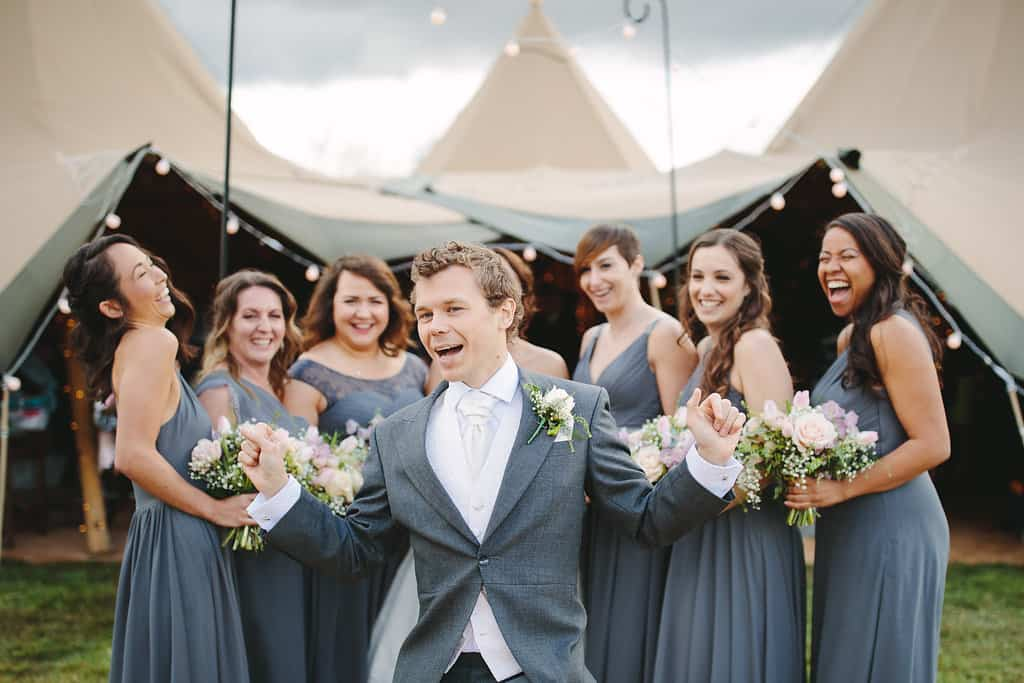 photo bomb - Sami Tipi Wedding by london-weddingphotographer