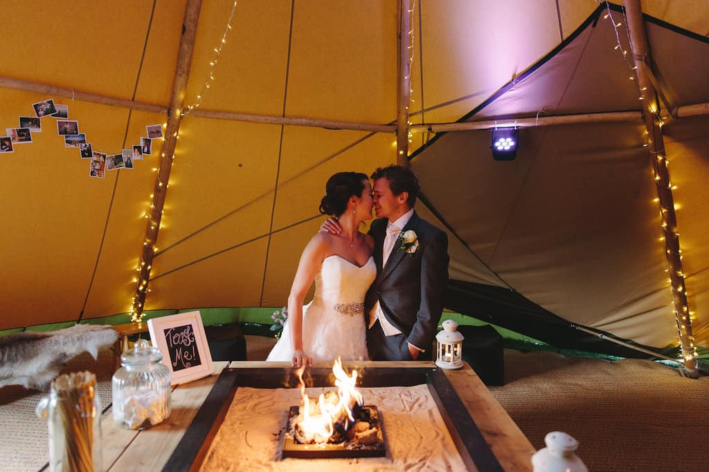 Chill out tipi - Sami Tipi Wedding by london-weddingphotographer