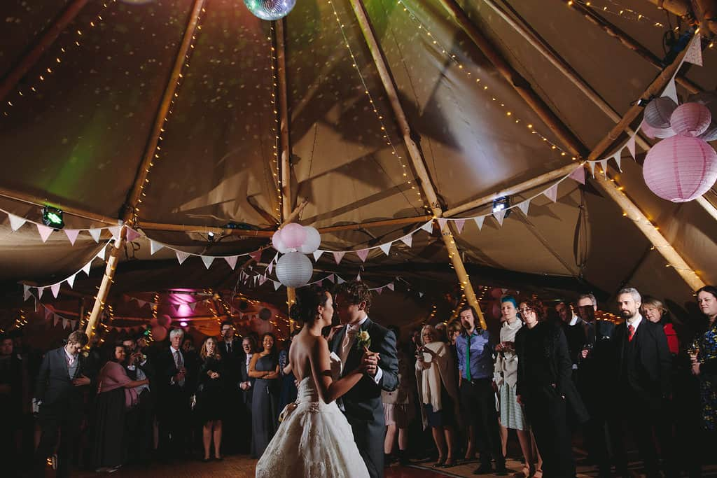 First Dance - Sami Tipi Wedding by london-weddingphotographer