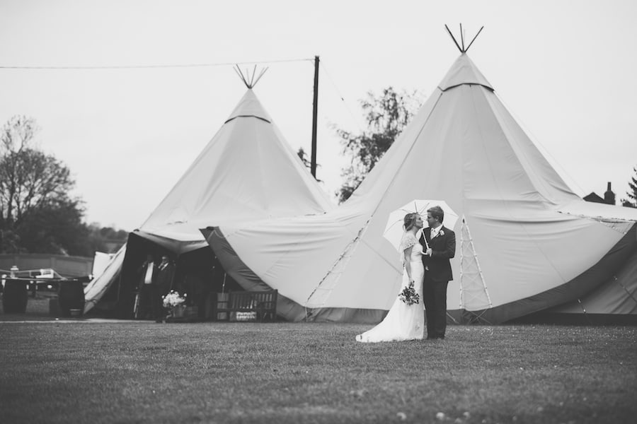 Time out together - Sami Tipi Leicestershire wedding - captured by Jonathan Flint Photography