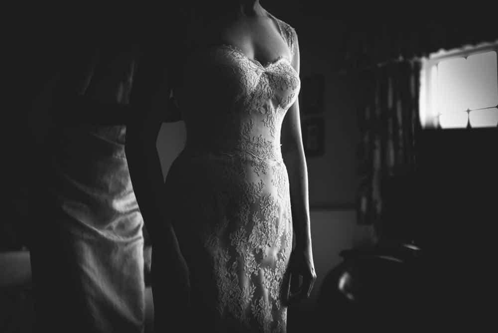 Getting Ready - Sami Tipi Wedding Ilam Derbyshire, Captured by Martin Makowski