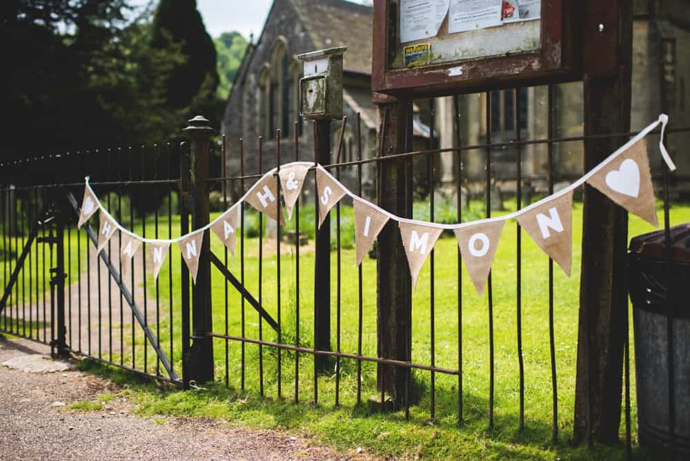 Rustic Bunting - Sami Tipi Wedding Ilam Derbyshire, Captured by Martin Makowski