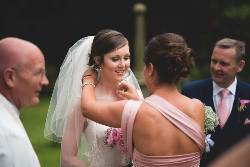The Girls arriving at church - Sami Tipi Wedding Ilam Derbyshire, Captured by Martin Makowski