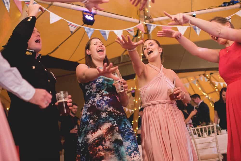 Party Time - Sami Tipi Wedding Ilam Derbyshire, Captured by Martin Makowski