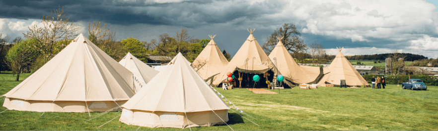 Sami TIpi at Bawdon Lodge Farm
