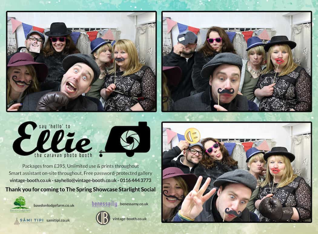Vintage Photo Booth Sami Tipi Showcase 2016 10