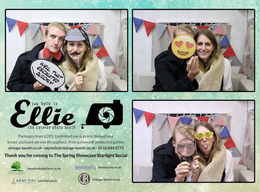 Vintage Photo Booth Sami Tipi Showcase 2016 11