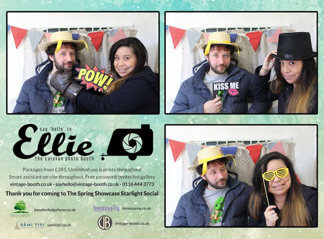 Vintage Photo Booth Sami Tipi Showcase 2016 12