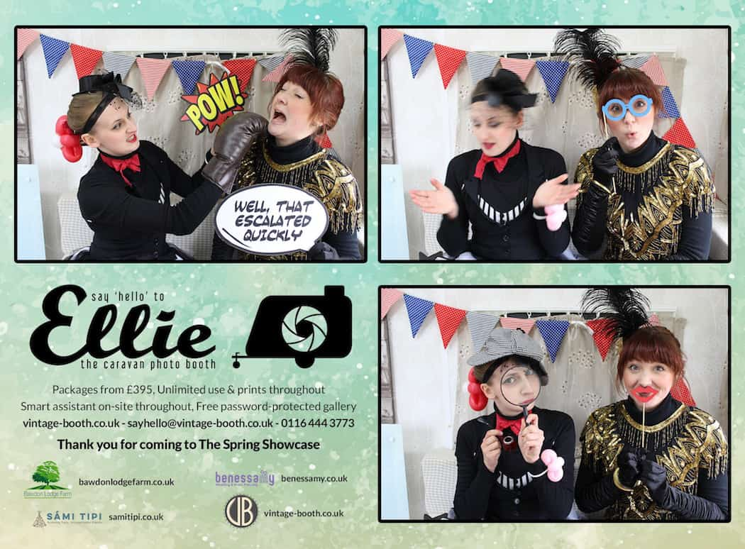 Vintage Photo Booth Sami Tipi Showcase 2016 36