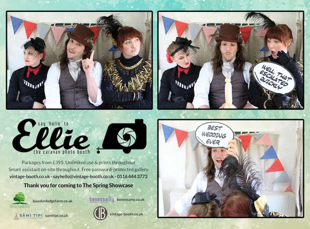Vintage Photo Booth Sami Tipi Showcase 2016 41