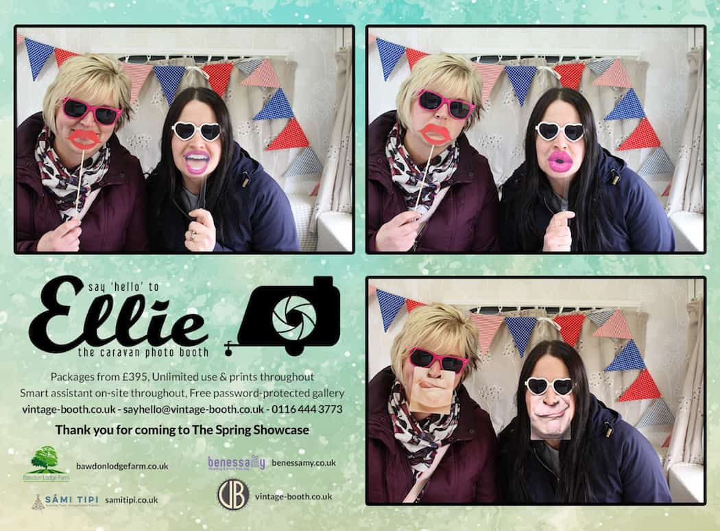Vintage Photo Booth Sami Tipi Showcase 2016 45